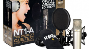 Rode NT1-A Complete Vocal Recording Set Test
